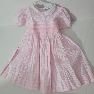 Carriage Boutiques Toddler Pink Dress 24 months
